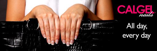 Calgel nail extensions Beauty Salon Edinburgh