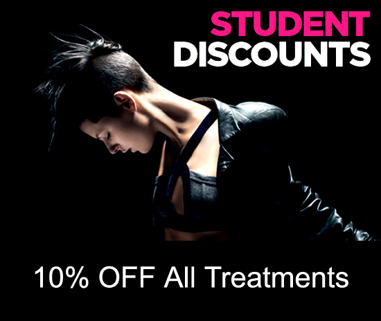 Student Discounts Edinburgh Beauty Quarter - Beauty Salon Edinburgh Scotland UK